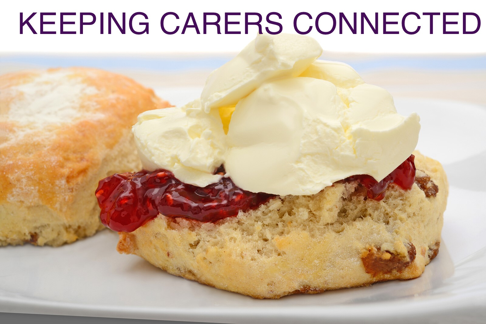 CARERS WEEK 2019 - come meet us in Hinckley on 4th June and enjoy a free cream tea. Ring us to reserve your place.