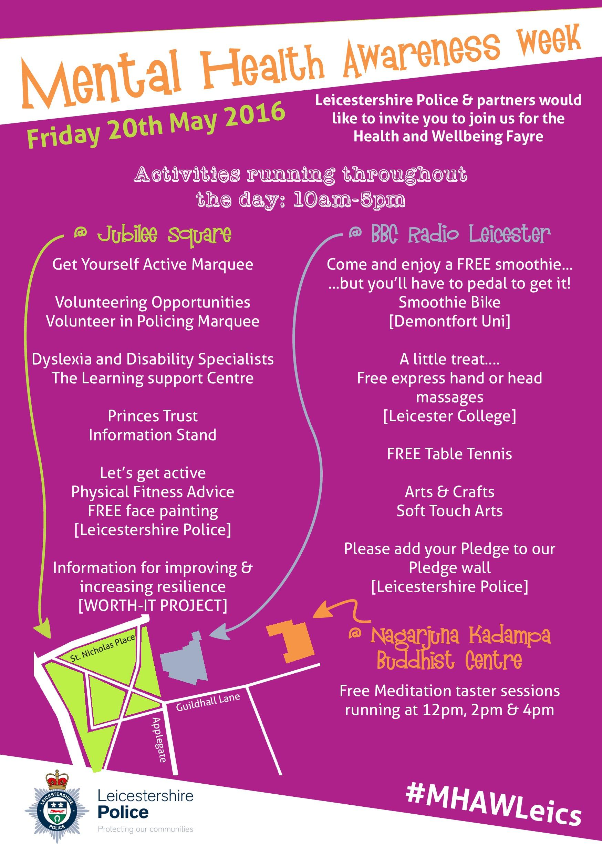 Mental Health Awareness Week - programme of Leicester ...