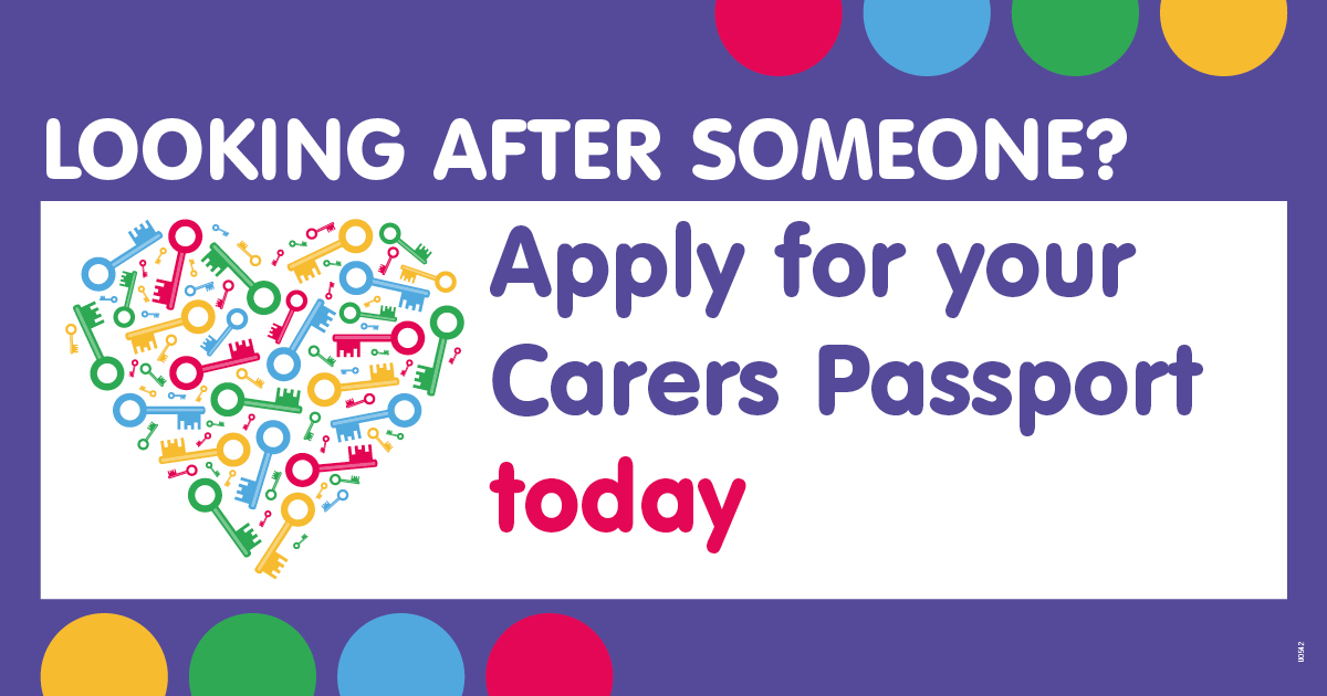Get a Carers Passport, your key to unlocking carer support across Leicester, Leicestershire and Rutland. Launched November 2020.